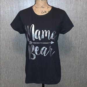 NWOT Mama Bear Short Sleeve Tee Size M